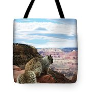 Grand Canyon Squirrel Tote Bag