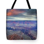 Grand Canyon Storm Set Tote Bag