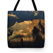 Grand Canyon Symphony Of Light And Shadow Tote Bag