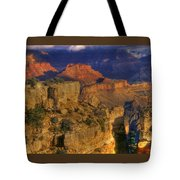 Grand Canyon - The Wonders Of Light And Shadow - 1a Tote Bag