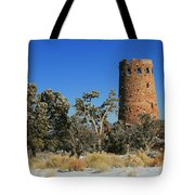 Grand Canyon Watch Tower Tote Bag