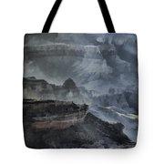 Grand Canyon Watercolor Tote Bag