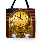 Grand Central Clock Tote Bag