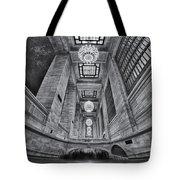 Grand Central Corridor Bw Tote Bag