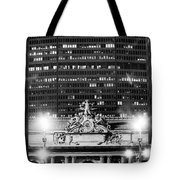 Grand Central Pan Am Building Tote Bag