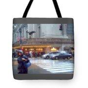 Grand Central Rain - 42nd Street Tote Bag