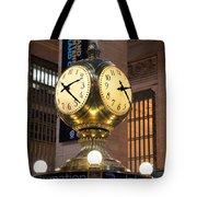 Grand Central Station Clock Tote Bag