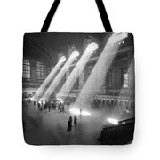 Grand Central Station Sunbeams Tote Bag