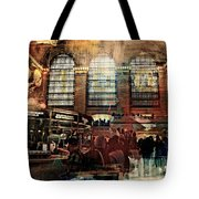 Grand Central Terminal 100 Years Tote Bag by Diana Angstadt
