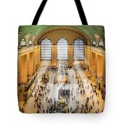 Grand Central Terminal Birds Eye View I Tote Bag by Susan Candelario
