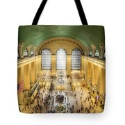 Grand Central Terminal Birds Eye View Tote Bag