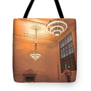 Grand Central Terminal Chandeliers Tote Bag