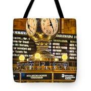 Grand Cerntral Terminal Clock No. 1 Tote Bag