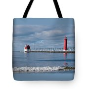 Grand Haven Winter Tote Bag