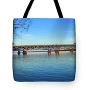 Grand Island Bridge 2 Tote Bag