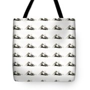 Grand Kitty Cuteness Bw 40 Tote Bag by Andee Design