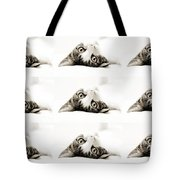 Grand Kitty Cuteness Bw 9 Tote Bag