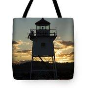 Grand Marais Mn Lighthouse 6 Tote Bag