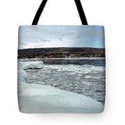 Grand Marias Cityscape Tote Bag