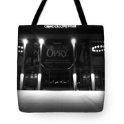 Grand Ole Opry At Night Tote Bag by Dan Sproul