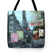 Grand Ole Paris-postcard From Paris Tote Bag