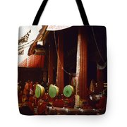 Grand Prayer Festival In The Jokhang Tote Bag
