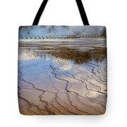 Grand Prismatic Runoff - Yellowstone Tote Bag