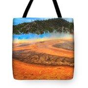 Grand Prismatic Shores Tote Bag