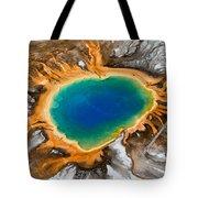 Grand Prismatic Spring II Tote Bag