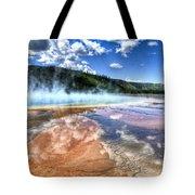 Grand Prismatic Spring - Yellowstone Tote Bag