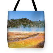 Grand Prismatic Spring - Yellowstone National Park Tote Bag