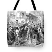Grand Prix De Paris, 1870 Tote Bag
