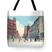 Grand Rapids - Michigan - Campau Square And Monroe Street - 1912 Tote Bag