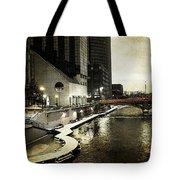 Grand Rapids Grand River Tote Bag