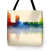 Grand Rapids Michigan Skyline 2 Tote Bag