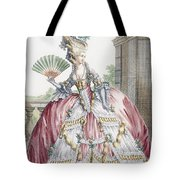 Grand Robe A La Francais, Engraved Tote Bag