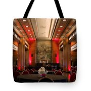 Grand Salon 01 Queen Mary Ocean Liner Tote Bag