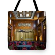Grand Salon 02 Queen Mary Ocean Liner Tote Bag