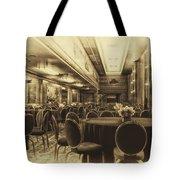 Grand Salon 05 Queen Mary Ocean Liner Heirloom Tote Bag