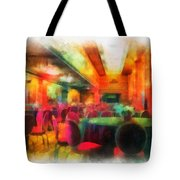 Grand Salon 05 Queen Mary Ocean Liner Photo Art 01 Tote Bag