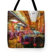 Grand Salon 05 Queen Mary Ocean Liner Photo Art 02 Tote Bag