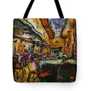 Grand Salon 05 Queen Mary Ocean Liner Photo Art 04 Tote Bag