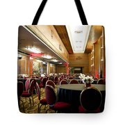 Grand Salon 05 Queen Mary Ocean Liner Tote Bag