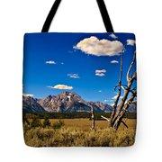 Grand Tenton Overlook Tote Bag