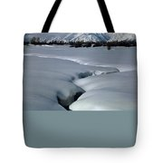 1m9304-grand Teton From Jackson Hole, Winter, H Tote Bag