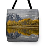 Grand Teton Gold Tote Bag