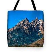 Grand Teton Mountain Tote Bag