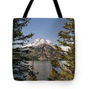 Grand Teton On Jenny Lake - Grand Teton National Park Wyoming Tote Bag