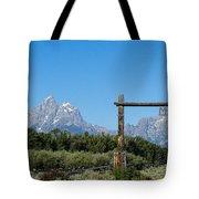Grand Teton Ranch Tote Bag