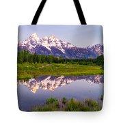 Grand Teton Reflection Tote Bag